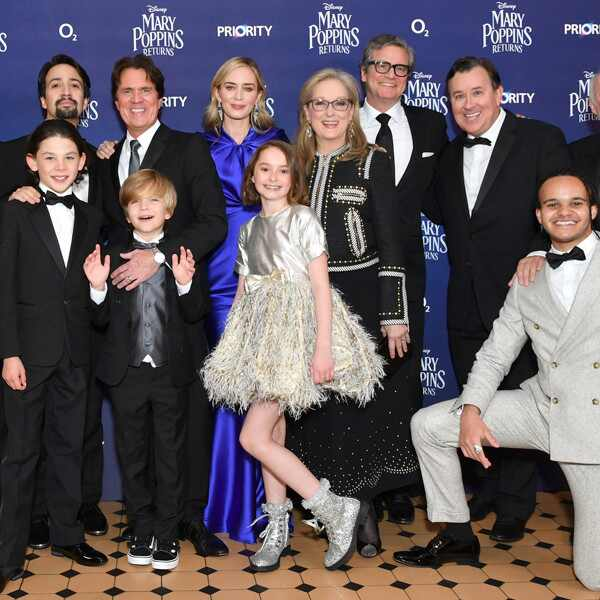 Mary Poppins Returns, Cast, European Premiere
