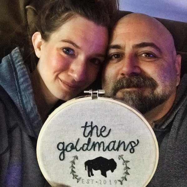 Duff Goldman, Johnna Goldman, Married