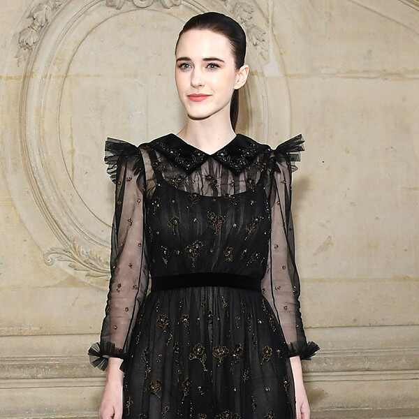 Rachel Brosnahan, 2019 Paris Fashion Week, Christian Dior Haute Couture