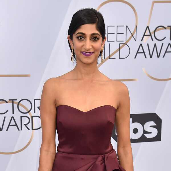 Sunita Mani, 2019 SAG Awards, Red Carpet Fashions