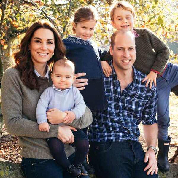 Kate Middleton, Princess Charlotte, Prince Louis, Family Portrait
