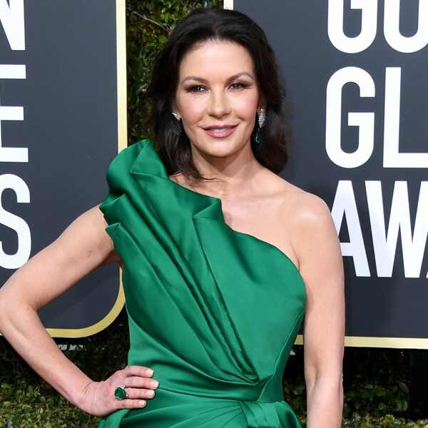 Catherine Zeta-Jones, 2019 Golden Globes, Golden Globe Awards, Red Carpet Fashions
