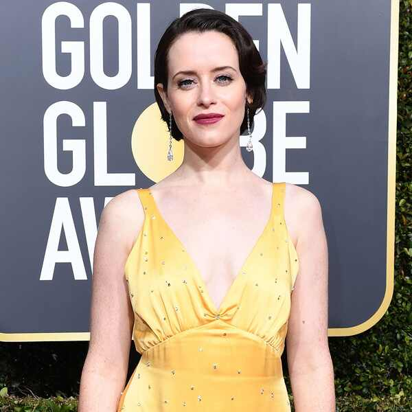 Claire Foy, 2019 Golden Globes, Golden Globe Awards, Red Carpet Fashions