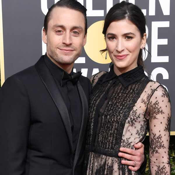 Kieran Culkin, Jazz Charton, 2019 Golden Globes, Couples