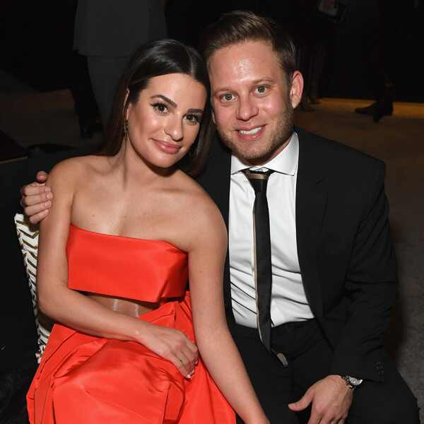Lea Michele, Zandy Reich, 2019 Golden Globe Awards, After Party
