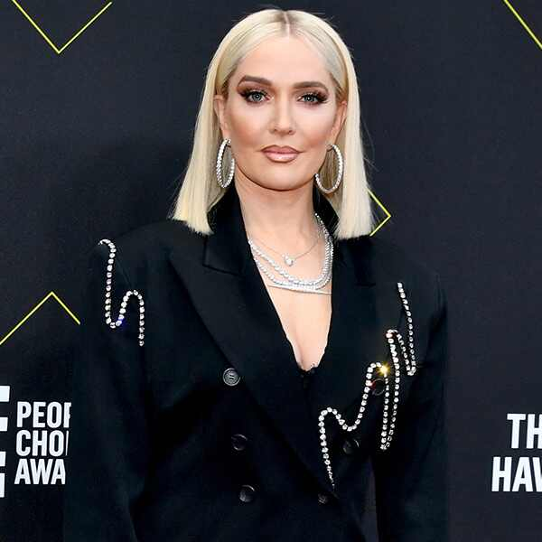 Erika Jayne, 2019 E! People's Choice Awards, Red Carpet Fashion