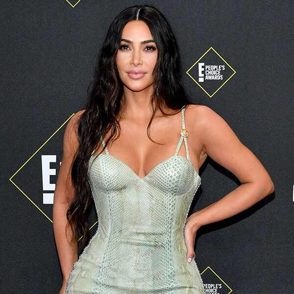 Kim Kardashian West, 2019 E! People's Choice Awards, Red Carpet Fashion