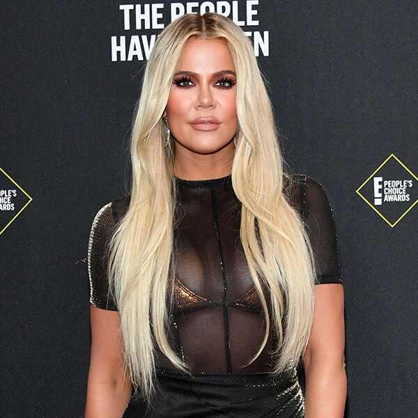 Khloé Kardashian, 2019 E! People's Choice Awards, Red Carpet Fashion