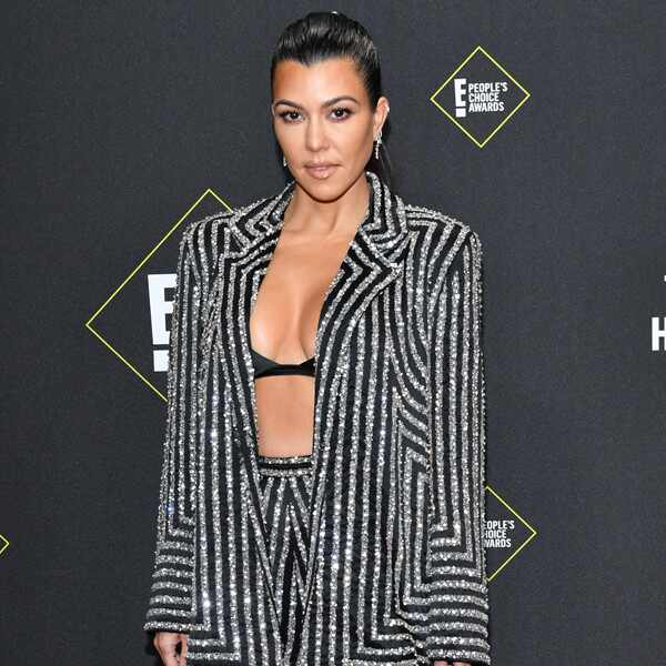 Kourtney Kardashian, 2019 E! People's Choice Awards, Red Carpet Fashion