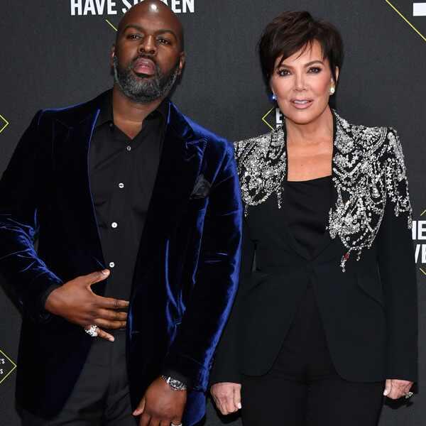 Corey Gamble, Kris Jenner, 2019 E! People's Choice Awards, Couples