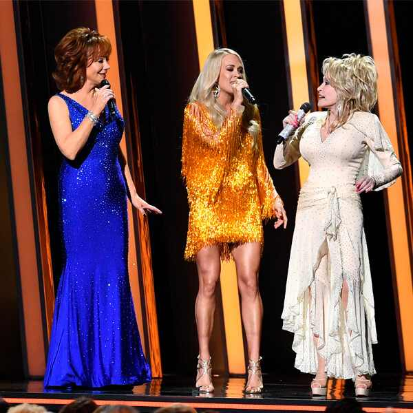 Reba McEntire, Carrie Underwood, Dolly Parton, 2019 CMA Awards