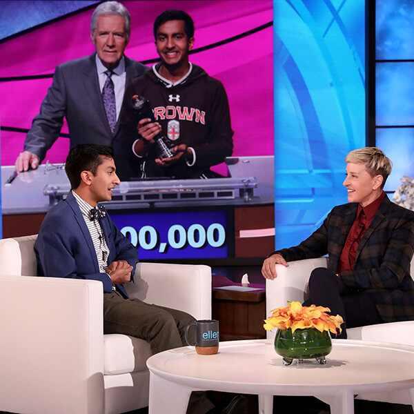 Dhruv Gaur, Jeopardy, Alex Trebek, Ellen DeGeneres Show