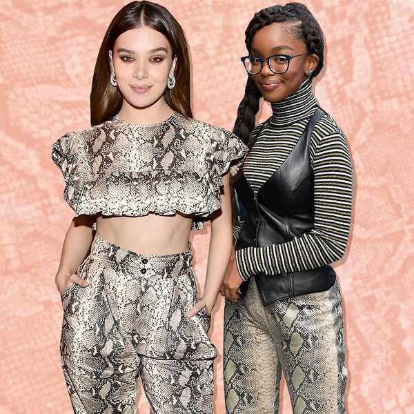 E-Comm: What the Fashion, Snakeskin Trend