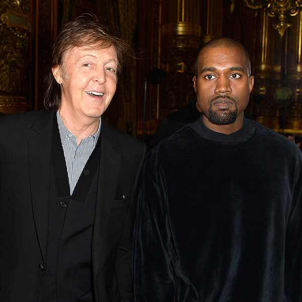 Paul McCartney, Kanye West