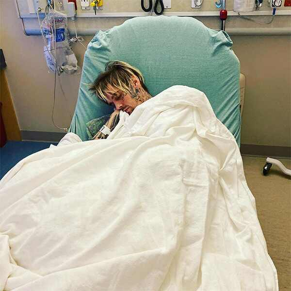Aaron Carter, Hospital, Instagram