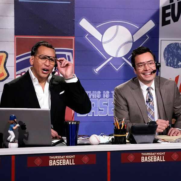 Alex Rodriguez, Jimmy Fallon, The Tonight Show