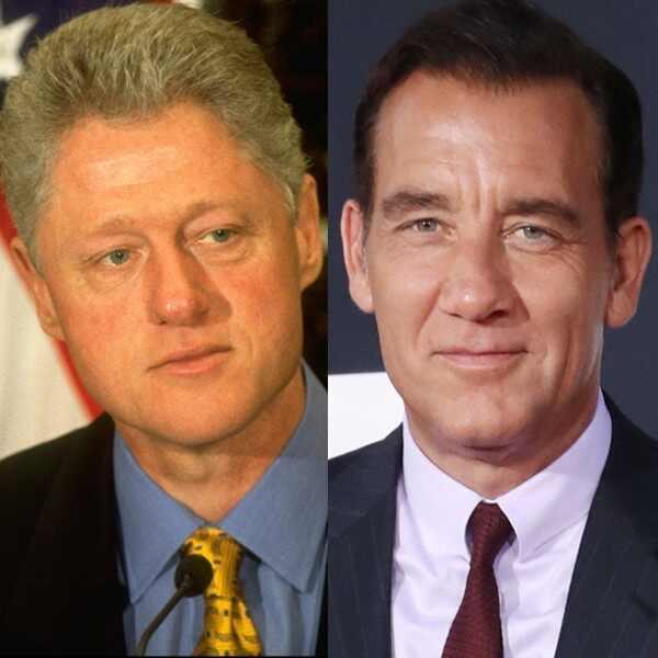 Bill Clinton, Clive Owen