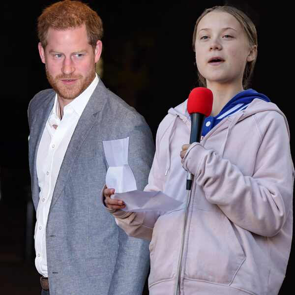 Prince Harry, Duke of Sussex, Greta Thunberg