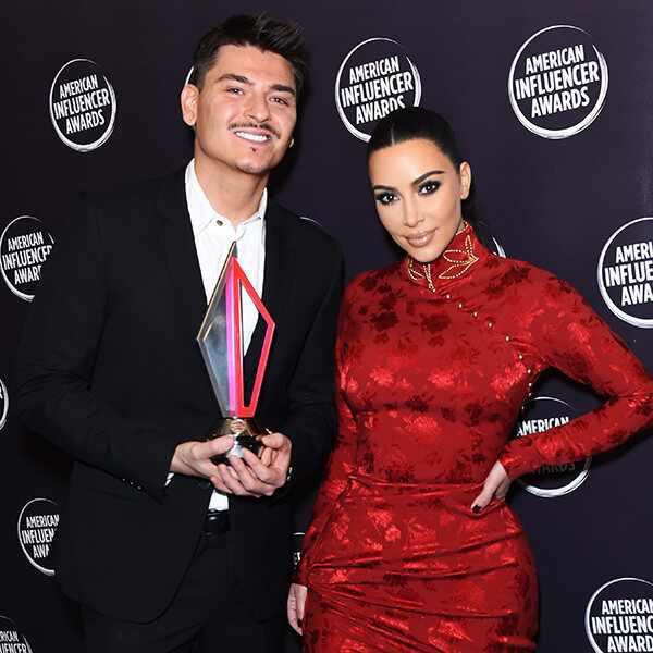 Mario Dedivanovic, Kim Kardashian, American Influencer Awards