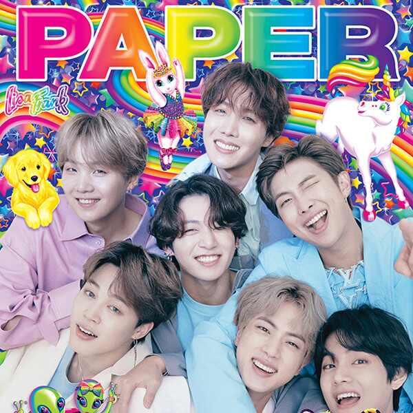 BTS, PAPER Magazine