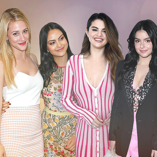 Lili Reinhart, Camila Mendes, Selena Gomez, Ariel Winter