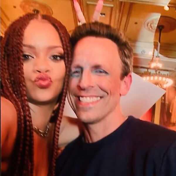 Seth Meyers, Rihanna, Selfie 2019