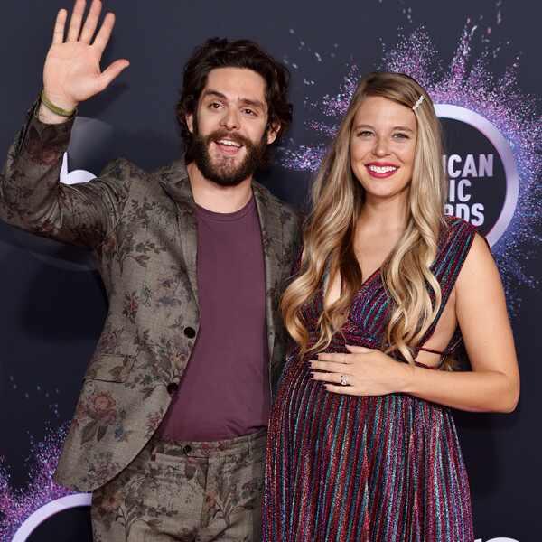 Thomas Rhett, Lauren Akins, America Music Awards