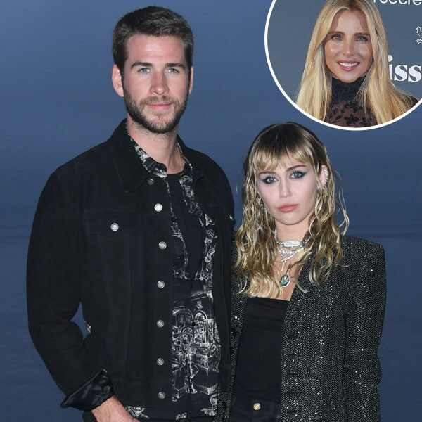 Liam Hemsworth, Miley Cyrus, Elsa Pataky