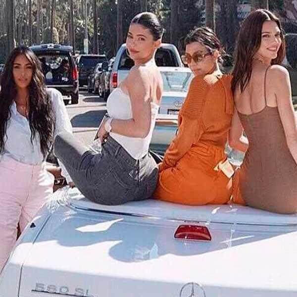 Kris Jenner, Khloe Kardashian, Kim Kardashian, Kylie Jenner, Kendall Jenner, Kourtney Kardashian