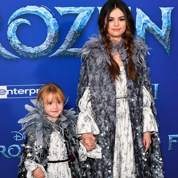 Selena Gomez, Gracie, Frozen ll premiere