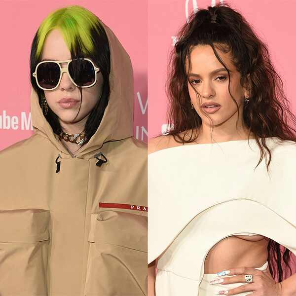 Billie Eilish, Rosalia, 2019 Billboard Women in Music