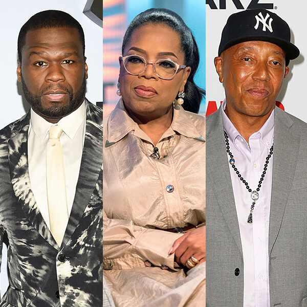 50 Cent, Oprah Winfrey, Russell Simmons