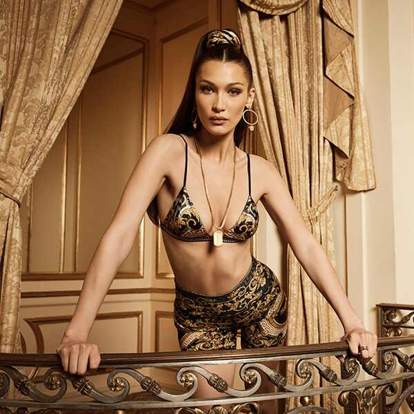 Bella Hadid, Kith x Versace - thumbnail