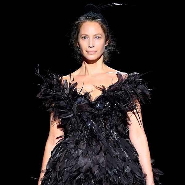 Christy Turlington, Marc Jacobs Show, New York Fashion Week 2019