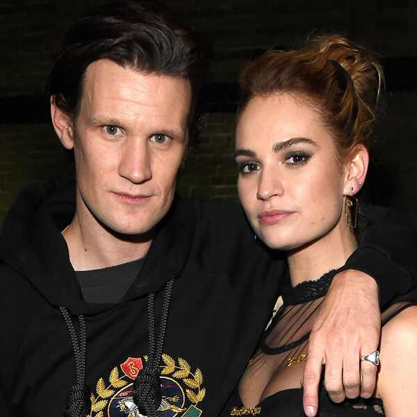 Lily James, Matt Smith