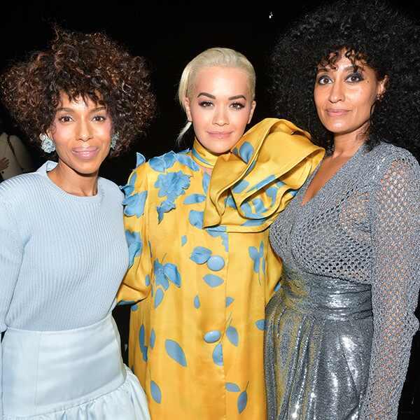 Kerry Washington, Rita Ora, Tracee Ellis Ross, Marc Jacobs show