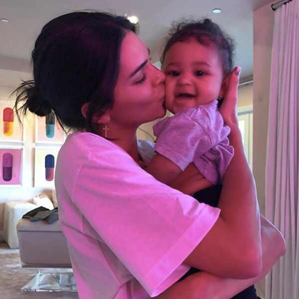 Kendall Jenner, Stormi Webster
