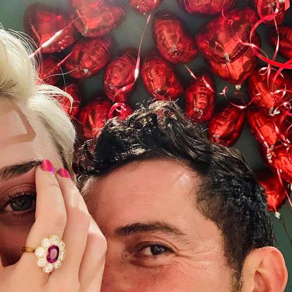 Katy Perry, Orlando Bloom, Engaged