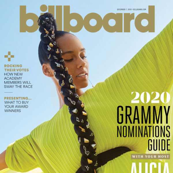 Alicia Keys, Billboard Magazine
