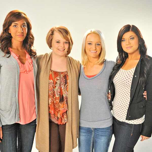 Teen Mom Season 1, Maci Bookout, Amber Portwood, Catelynn Lowell, Farrah Abraham