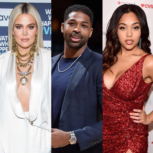 Khloe Kardashian, Tristan Thompson, Jordyn Woods