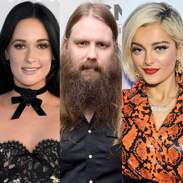 Kacey Musgraves, Chris Stapleton, Bebe Rexha