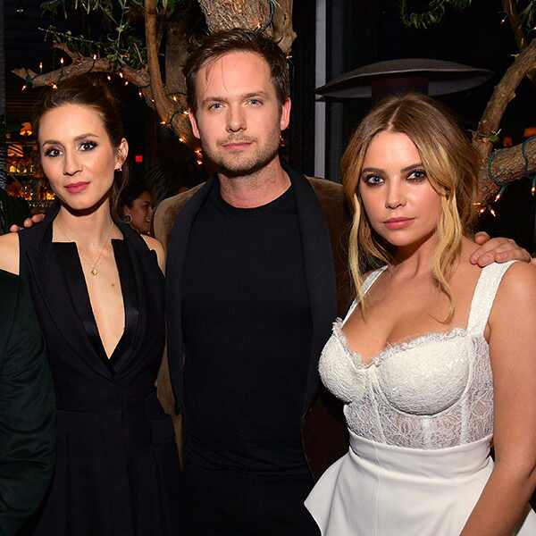 Troian Bellisario, Patrick J. Adams, Ashley Benson, Vanity Fair and LOréal Paris Pre-Oscars Party