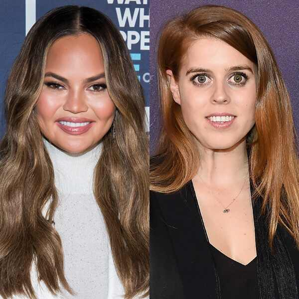 Chrissy Teigen, Princess Beatrice of York