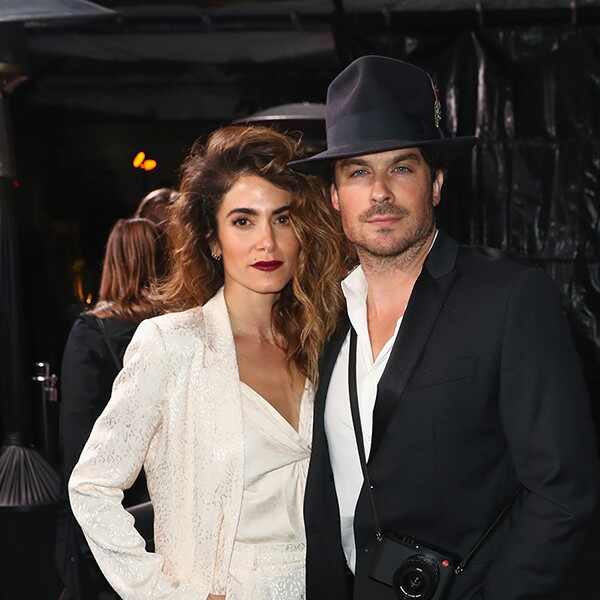 Nikki Reed, Ian Somerhalder, Pre-Oscars 2019 Party