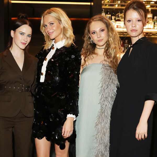 Milan Fashion Week, Rachel Brosnahan, Poppy Delavingne, Juno Temple, Mia Goth