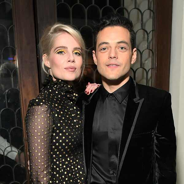 Rami Malek, Lucy Boynton, Pre-Oscars 2019 Party