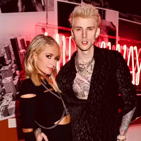 Paris Hilton, Machine Gun Kelly, Instagram