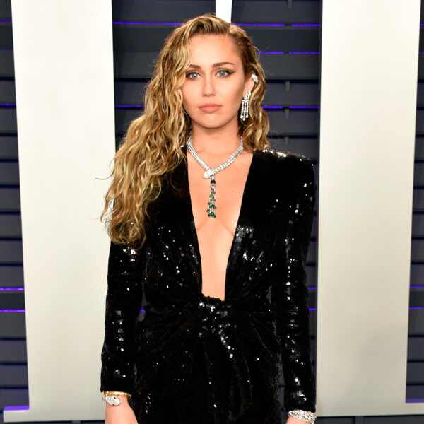 Miley Cyrus, 2019 Vanity Fair Oscar Party, 2019 Oscars