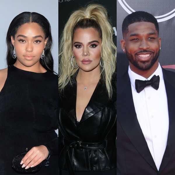 Jordyn Woods, Khloe Kardashian, Tristan Thompson